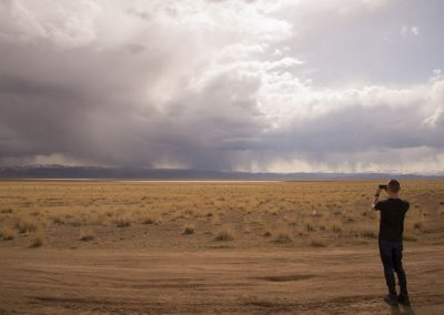 Storm in the Chuya Steppe