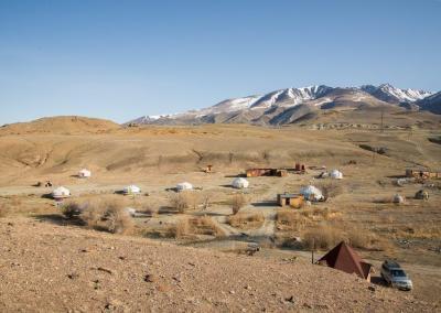 Yurt camping Tydtuyaryk