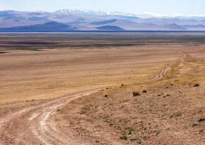 Road in the Chuya Steppe
