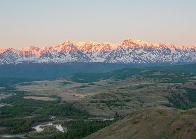 Nature landscape in Altai