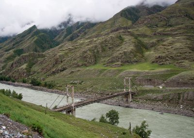 Inya bridge across Katun river