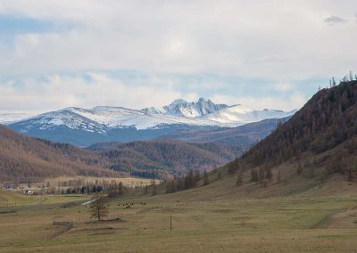 Karakol valley in Altai mountains