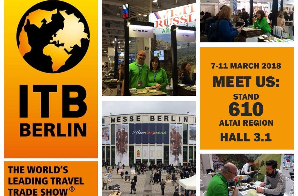 Let's meet again at ITB Berlin in 2018!