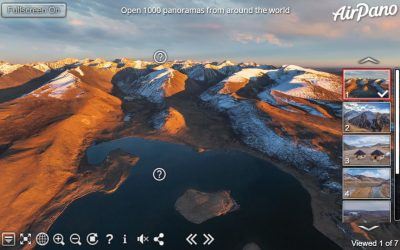 360° Aerial panoramas of Altai by Airpano
