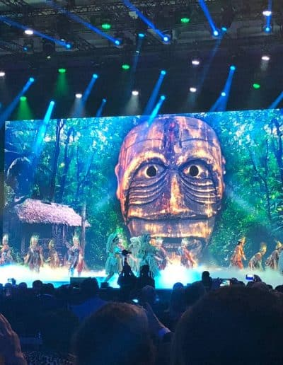 Malasia show ITB opening