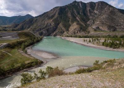 Chuya and Katun confluence