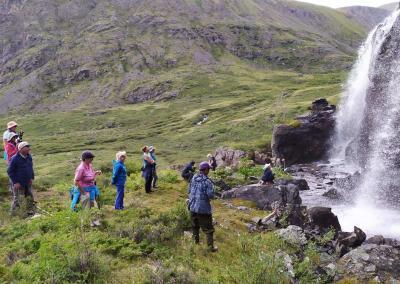 Waterfall in Kamtytugem