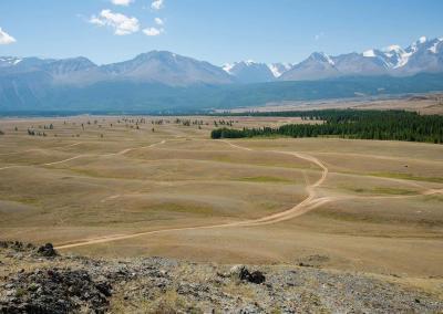 giant rifles Kurai steppe